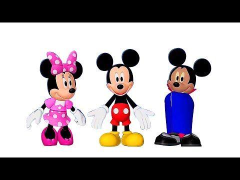 Colorear Mickey Mouse - libro para colorear canción del ABC episodio 14 - YouTube