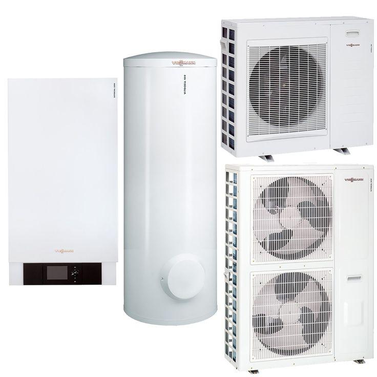 Viessmann Split Luft/Wasser Wärmepumpe-Paket Vitocal 200-S
