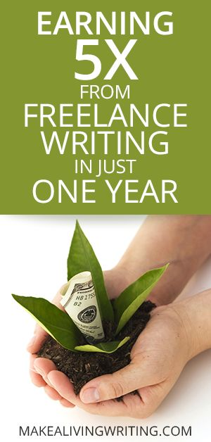 How I Quintupled My Freelance Writing Income in 1 Year http://www.makealivingwriting.com/how-i-grew-my-freelance-writing-income-5x-in-one-year/   Additionally read my blogger website for lists of sites paying for articles or blog posts, http://thewritejobtoday.blogspot.co.uk/