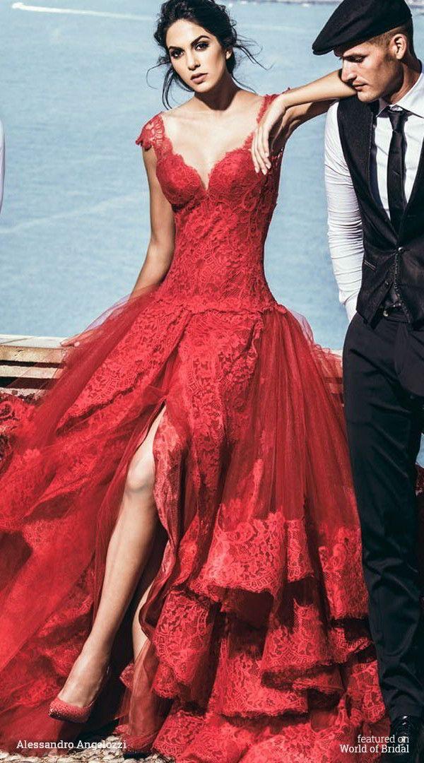 Alessandro Angelozzi Couture 2016 Wedding Dress