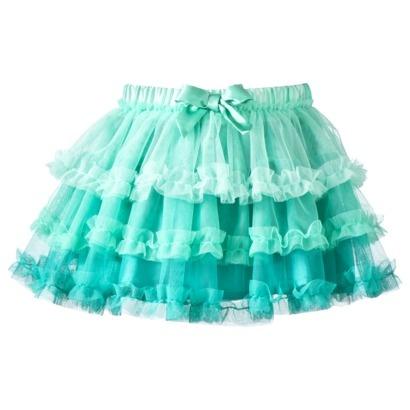 or in aqua??  Circo® Infant Toddler Girls' Tutu Skirt. $10