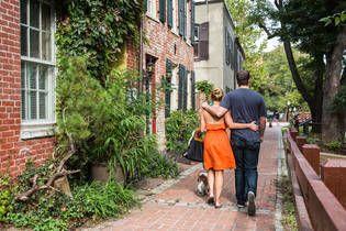 Love the Georgetown neighborhood page on Airbnb.com
