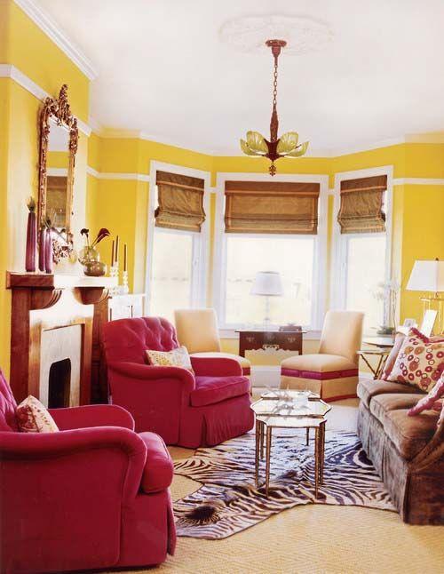 20 mejores imágenes de Decoración en Pinterest Decoración colorida - colores calidos para salas