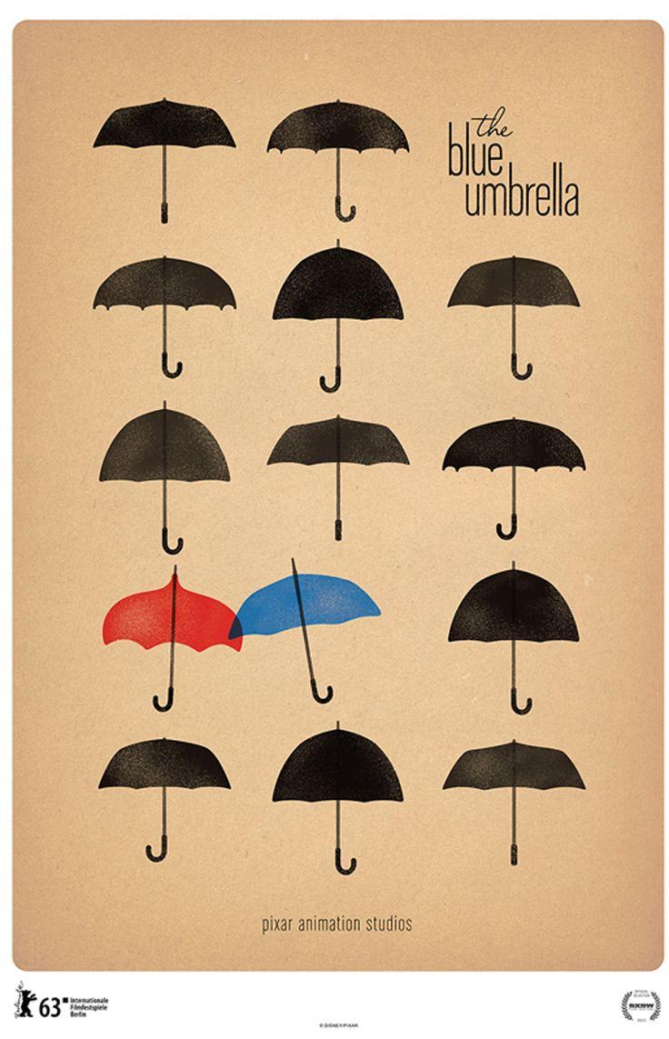 Pixar: O guarda chuva azul