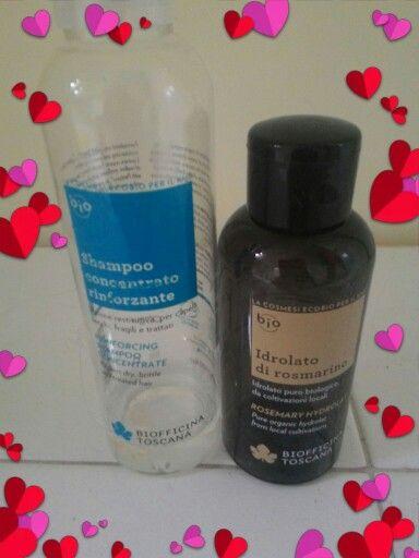 Shampoo concentrati rinforzate+ distillato di rosmarino