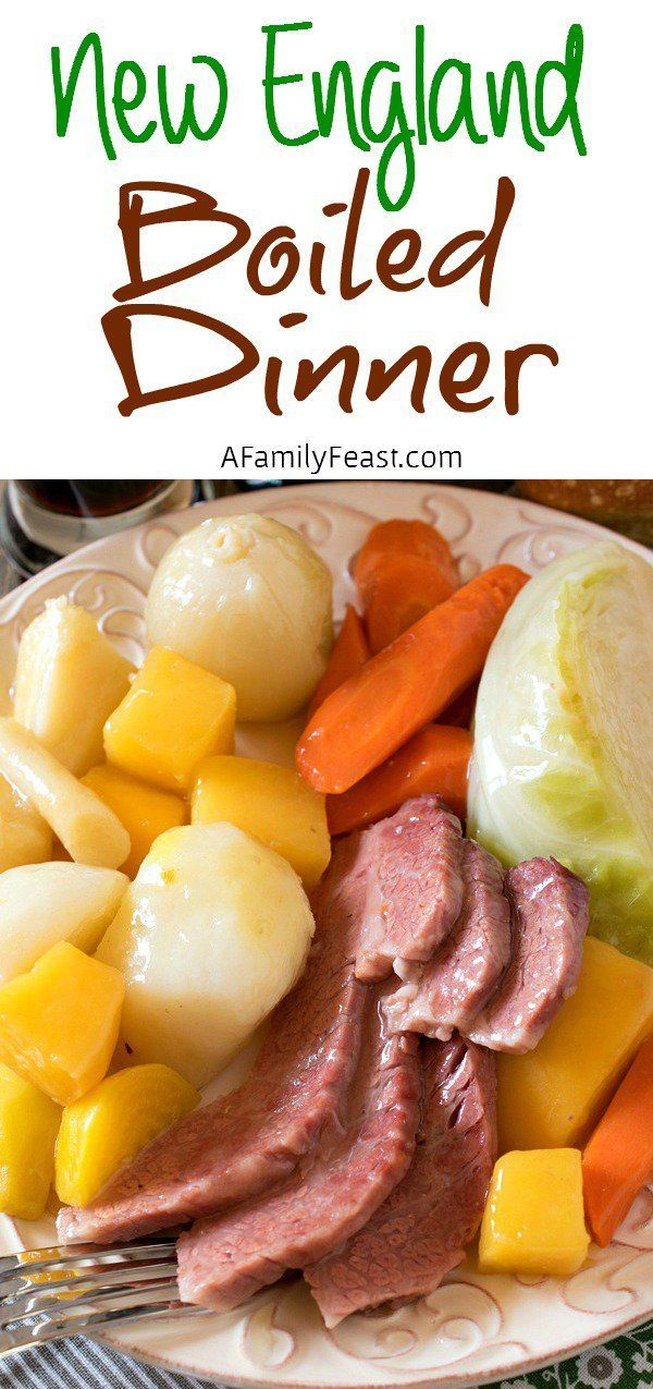 New England Boiled Dinner - A great tutorial to make the perfect, classic New England Boiled Dinner (aka Corned Beef and Cabbage)