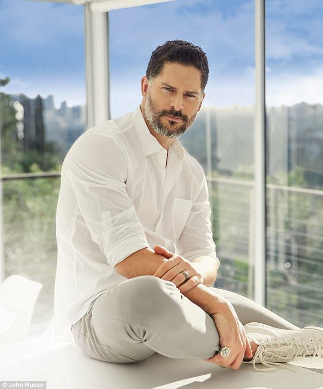 'I knew right away': Joe Manganiello, 40, gushed over the stunning Sofia Vergara, 44, in a...