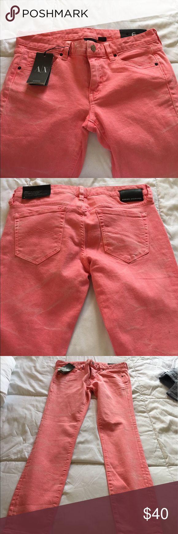 Armani exchange jeans AX JEANS size 6 low rose super skinny leggings en denim A/X Armani Exchange Jeans Skinny