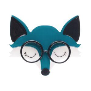 Emry the Asleep Fox Brooch - Erstwilder
