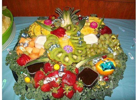 fruit tray baby shower fruit trays pinterest