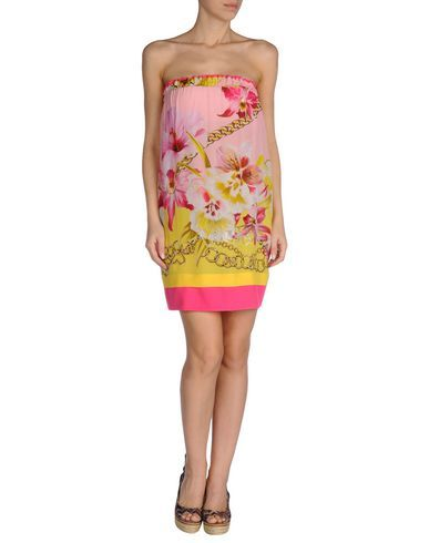 ¡Cómpralo ya!. VDP BEACH Vestido de playa mujer. crepé, logotipo, estampado floral, cintura normal, sin bolsillo , vestidoinformal, casual, informales, informal, day, kleidcasual, vestidoinformal, robeinformelle, vestitoinformale, día. Vestido informal  de mujer color rosa de VDP BEACH.