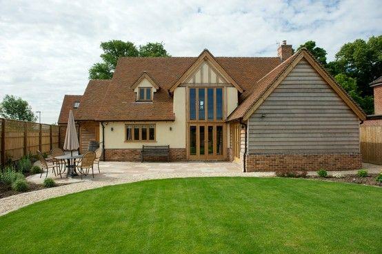 Border Oak Pearmain Cottage variation - rear elevation.
