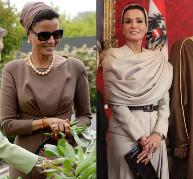 Sheikha Mozah, I luv her sense of style