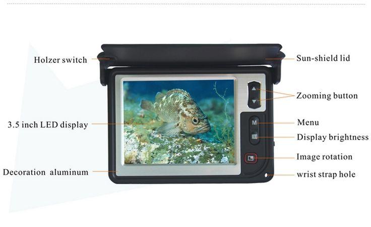600TVL Pesca 15M Depth Fish Finder 3.5'' Color LCD Underwater Ice Visual Video System Camera LQ-3505T Fishing Finder Camera olta sailfish -- Bu bagli bir çam AliExpress oldugunu.  AliExpress web sitesini girmek için ZIYARET dügmesine tiklayin.
