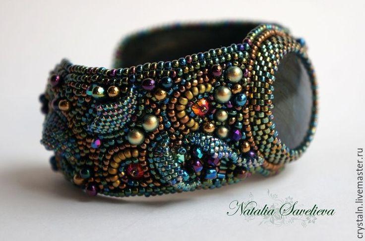 """Купить Браслет """"Сказка"""" - комбинированный, яркий аксессуар, шикарное украшение, бисерное украшение"""