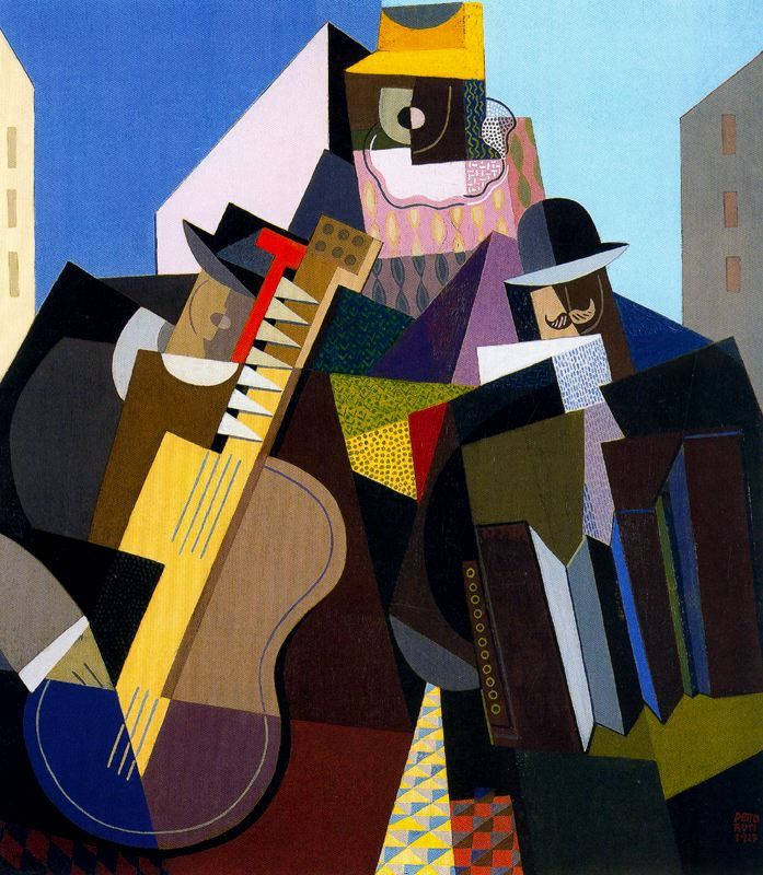 The Song of the People by Emilio Pettoruti, 1927