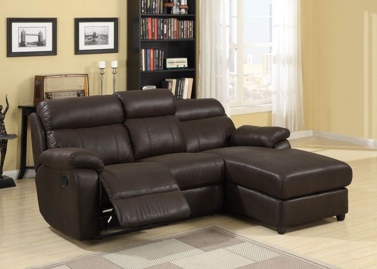2 pc gaines collection dark brown bomber jacket microfiber for Brown leather chaise end sofa