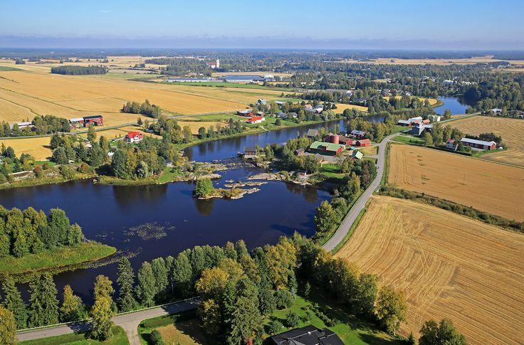 Köykänkoski, Ylistaro, Finland.