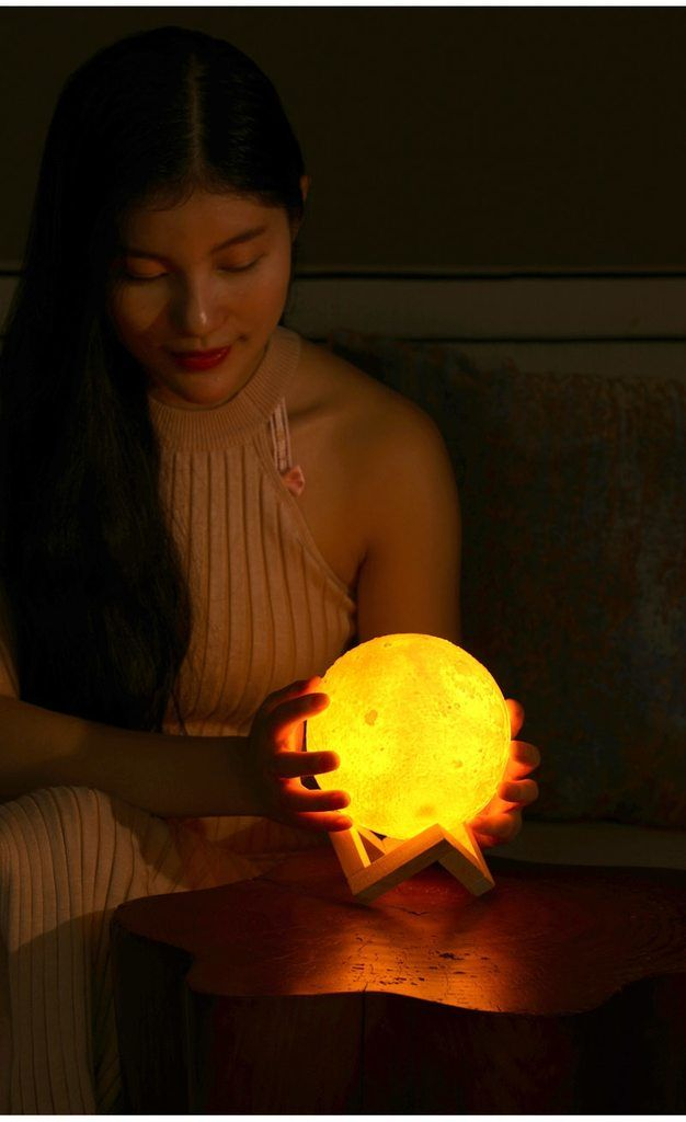 Polaris 3d Moon Lamp Diffuser Humidifier Air Humidifier Moon Shapes