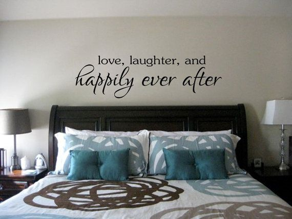 Love laughter and Happily ever after. Vinyl by Icingtopsthecake