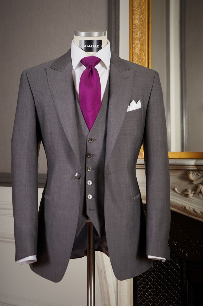 Costume mariage Scabal at Savile House Paris