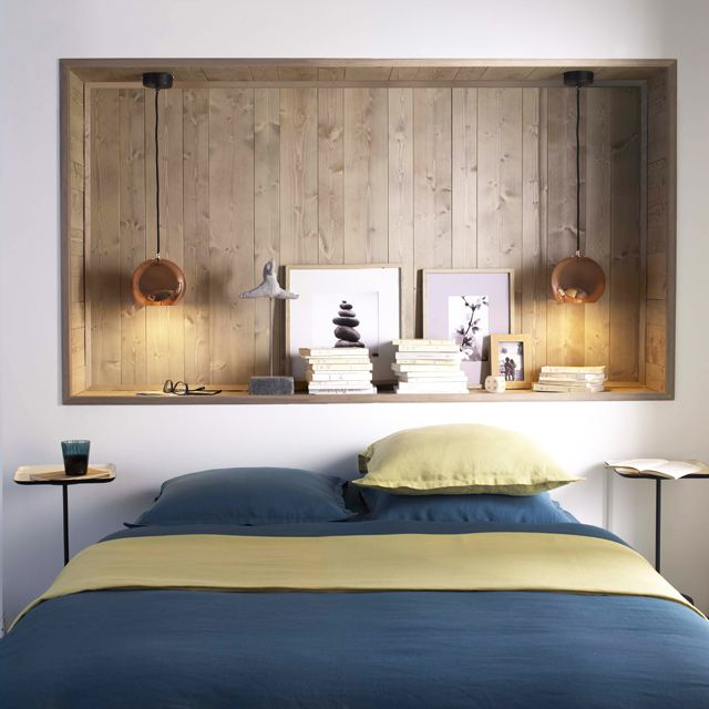 les 25 meilleures id es de la cat gorie t tes de lit faits maison sur pinterest t tes de lit. Black Bedroom Furniture Sets. Home Design Ideas