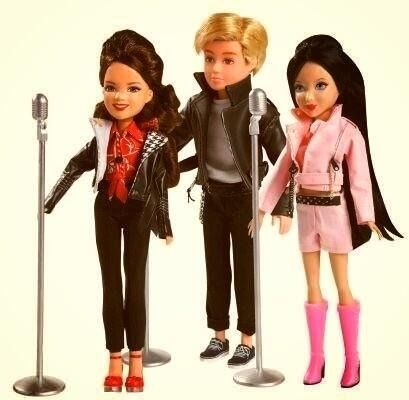 Teen beach movie dolls lol I want Brady's (Ross) doll