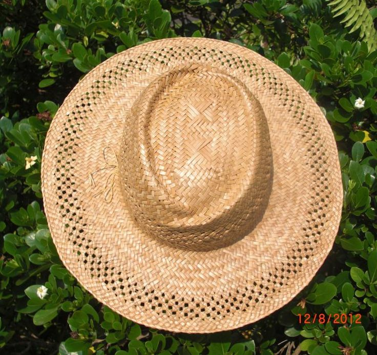 Kona Lauhala Hat Lovers Knots on Brim top