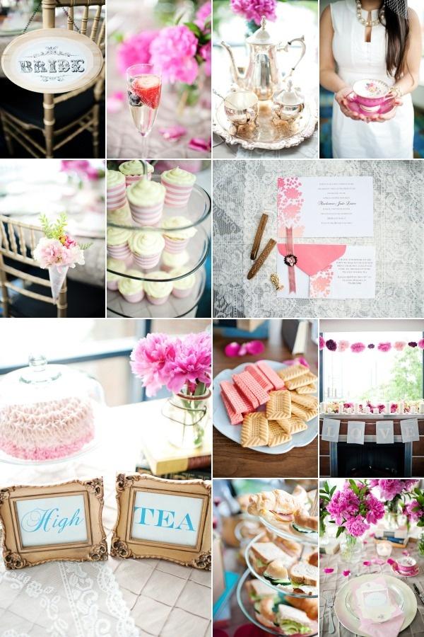 High Tea Bridal Shower Cupcakes Wedding Ideas