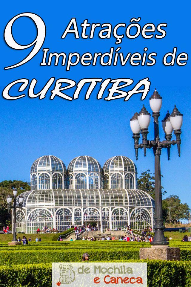 Curitiba é uma cidade repleta de atrativos! A cidade possui muita coisa legal pra conhecer! Não sabe por onde começar?Confira quais os principais atrativos de Curitiba.