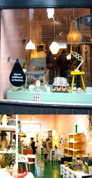Store without a home, Shop - Amsterdam, Netherlands