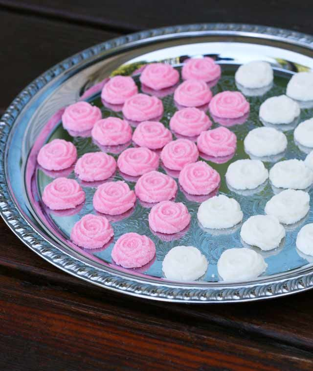 Old-Fashioned Cream Cheese Mints  My family made these for just about every wedding