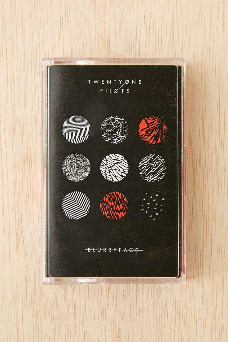 Twenty One Pilots Blurryface Cassette Tape Twenty One