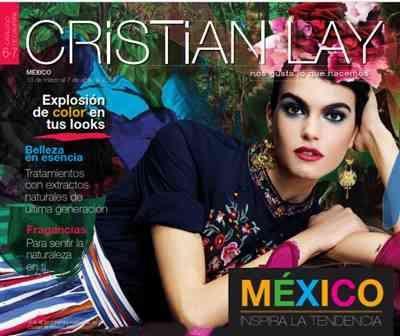 Descubre aqui todos los productos de Cristian Lay, Catalogo de Campaña 6 y 7 2017 Mexico. Cristian Lay ofrece cosmeticos con el 50%