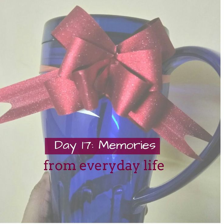 Make a habit to Store a jar of happy memories.