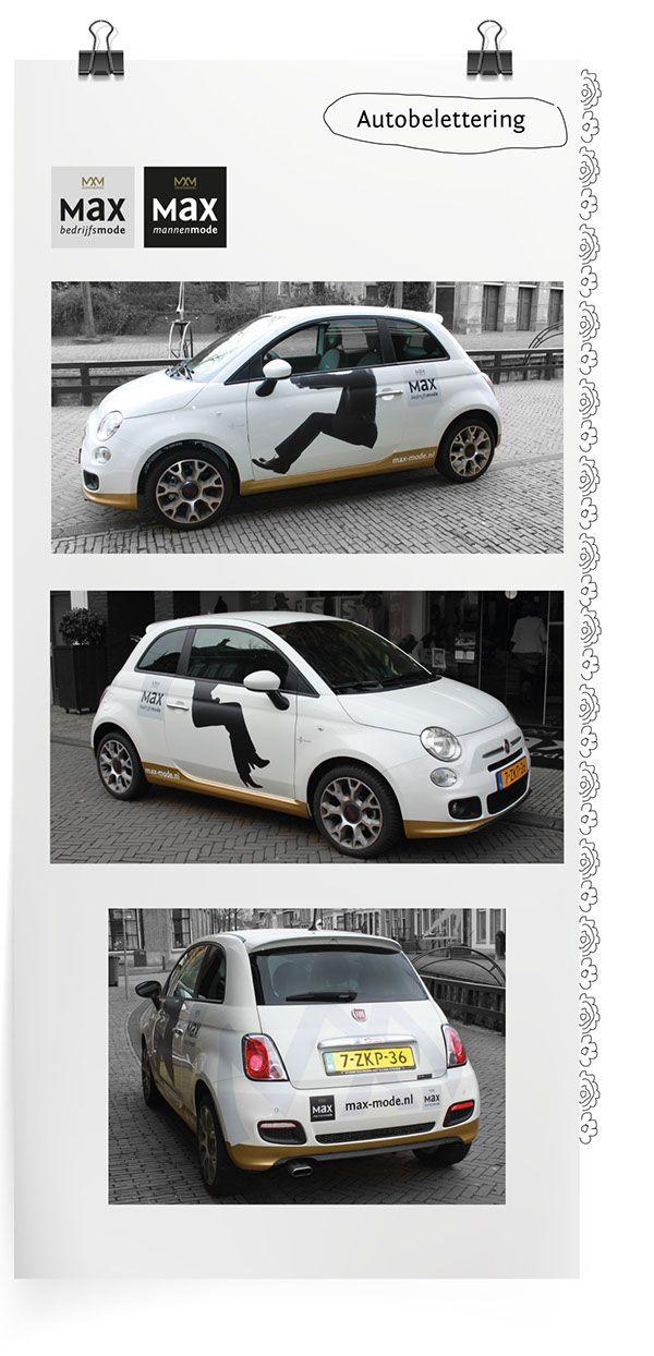 Autobelettering Max Bedrijfsmode Bolsward on Behance