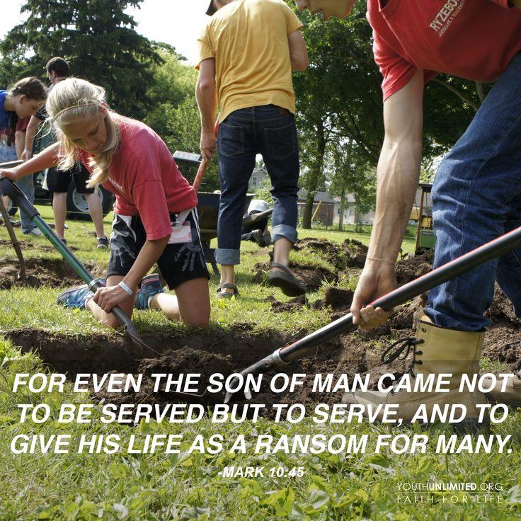Mark 10:45 #Serve2016