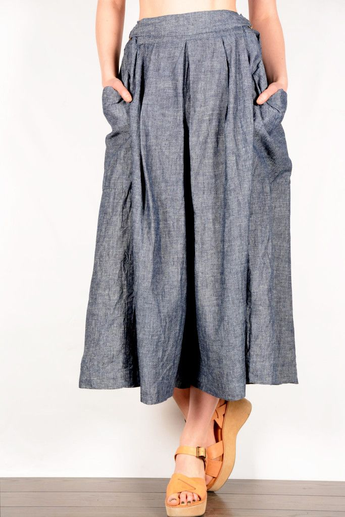 Gaucho hemp/organic cotton Pants Now Available!  Shop culotts at www.sustainlux.com