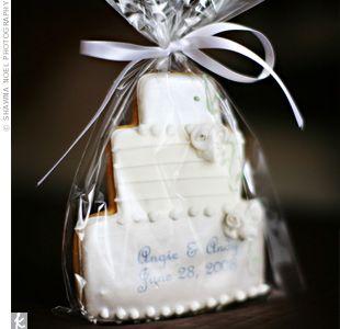 Edible wedding favors. :): Cake Cookies, Cookie Cakes, Wedding Ideas, Edible Wedding Favors, Cookies Cake, Shower Favors, Favors Ideas, Wedding Cake, Cookies Favors