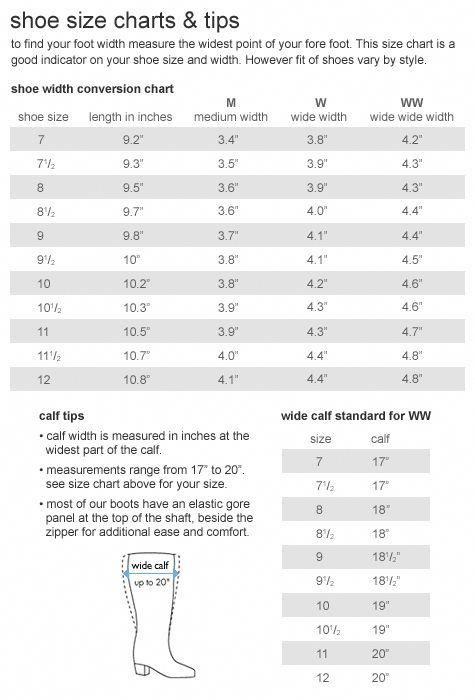 Shoe size chart bigwwomensfashion big w womens fashion in 2019