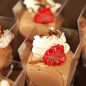 Raspberry Chocolate Mousse, a recipe from the ATCO Blue Flame Kitchen.
