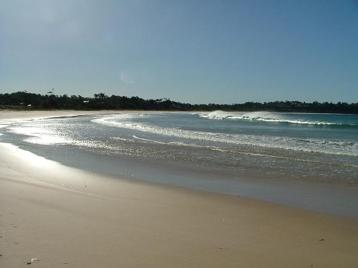 Beach walks.