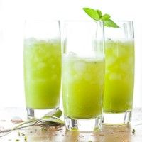 Sparkling Pineapple Mint Juice | Summer Drink Ideas | Cheers !!! Chin ...