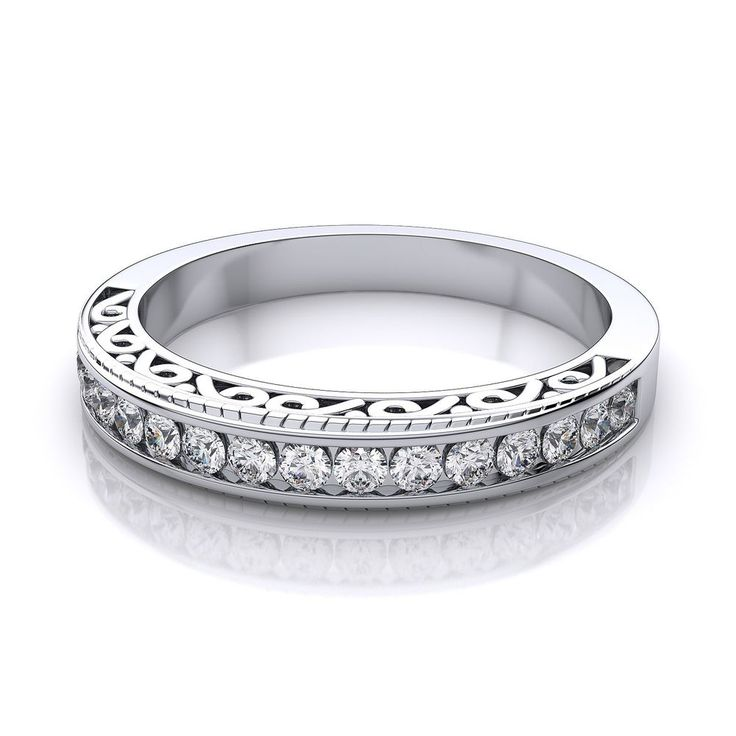 The 25 best Vintage eternity ring ideas on Pinterest