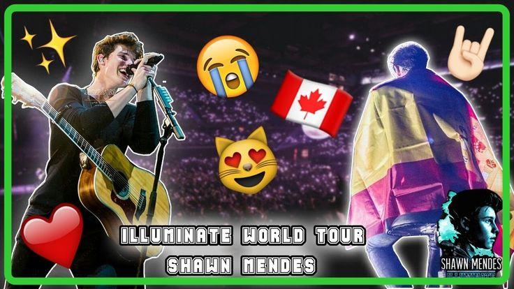 SHAWN MENDES ILLUMINATE WORLD TOUR || Vlog Shawn Mendes Madrid