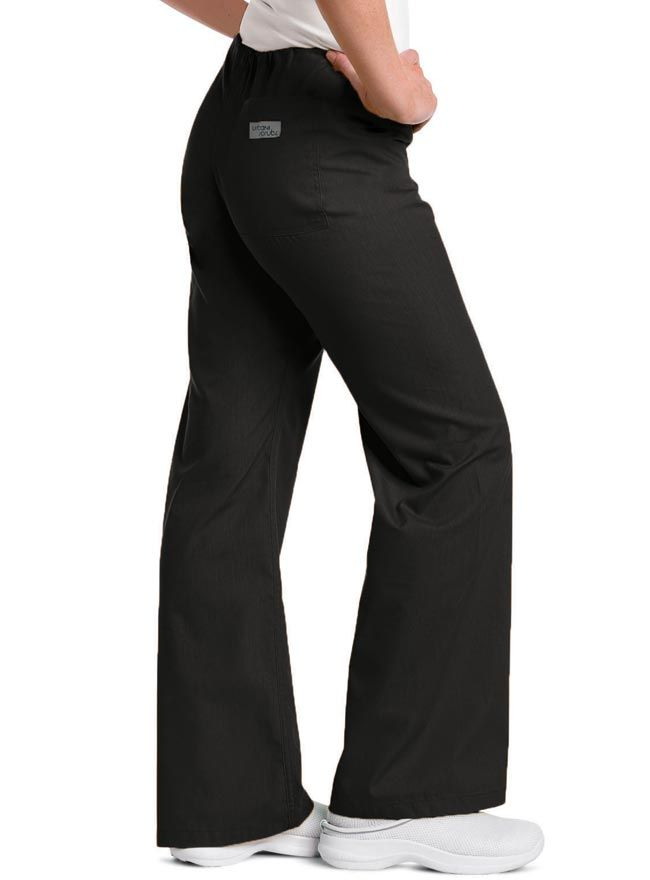 Style Code: (UR-9502T) Getting that perfect fitting pair of scrub pants is not so hard at all with this Urbane low rise boot cut scrub pants designed for the tall ones. Attending to all the demands of a healthcare profession need not sacrifice fashion, style and comfort. The modern waist fit that allows it to fall at the hips, which makes this pair of scrub pants not only comfortable but also fashionable. It has no side seam for a smoother silhouette.
