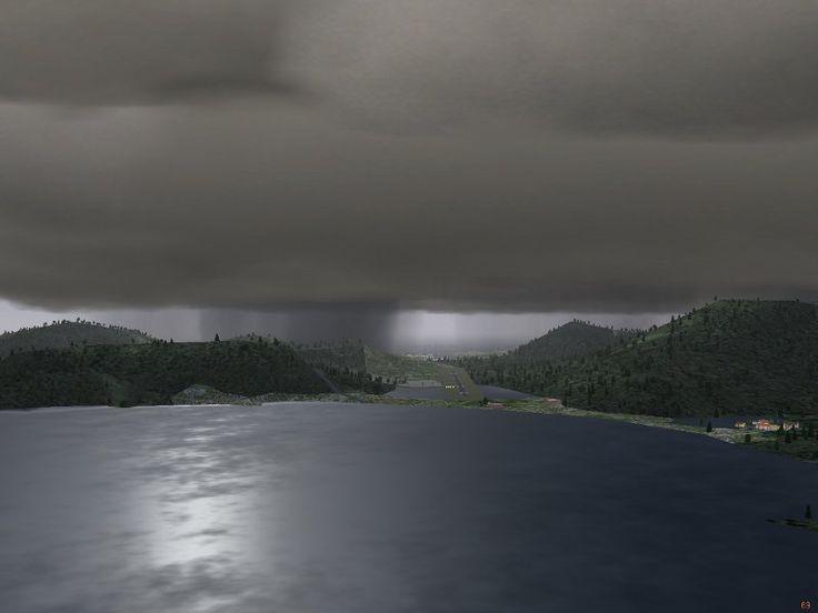 Nimbostratus Clouds | ... generation call for nimbostratus clouds with precipitation models