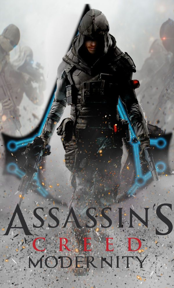 Assassin S Creed Modernity Book Cover By Raidriar93 Assassins Creed Best Assassin S Creed Assassins Creed Movie