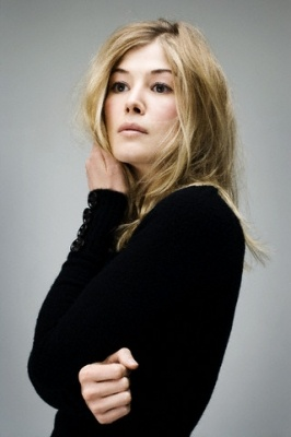 The lovely Rosamund Pike, she reminds me of a fairy :)