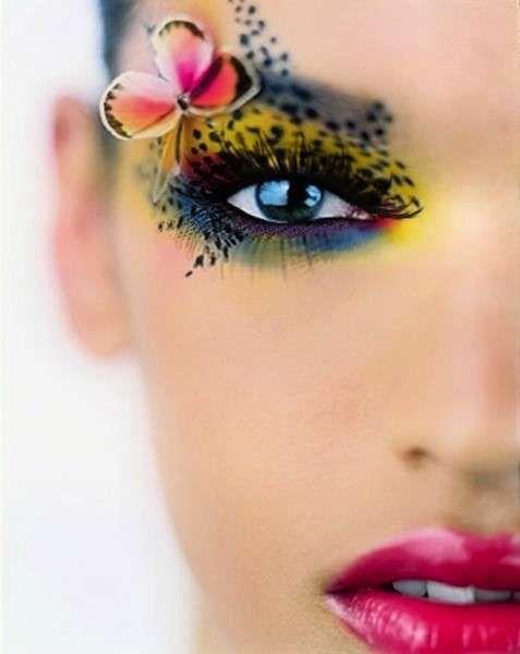 Idee make up farfalla per Carnevale  (Foto 29/40)   Donna
